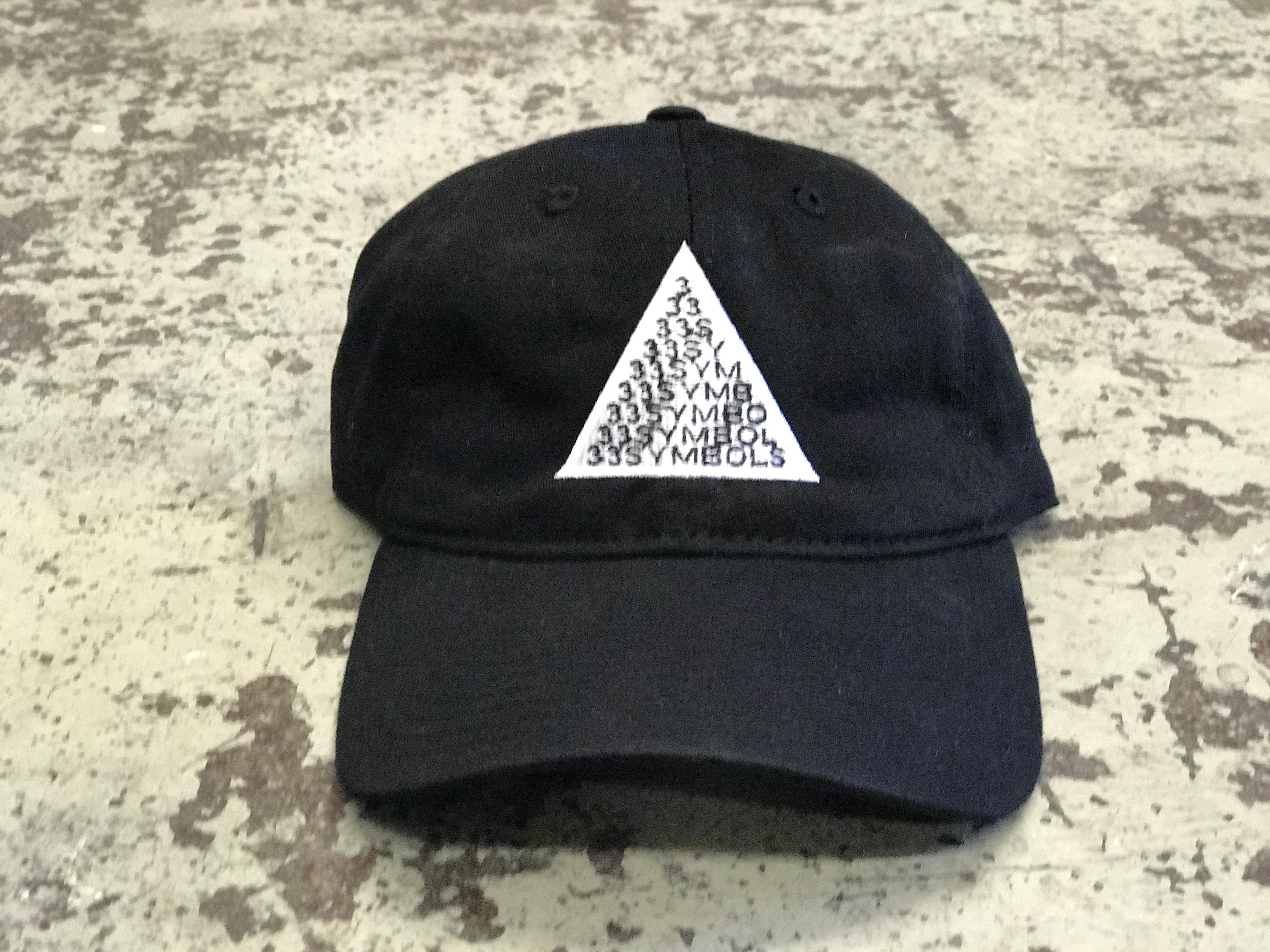82d9f29feeb 33 Symbols (33 Pyramid) hat black